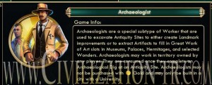 Archaeologist civilization