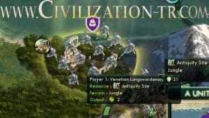 Own an antiquity site civilization