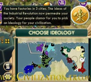 Choosing ideology screen civ